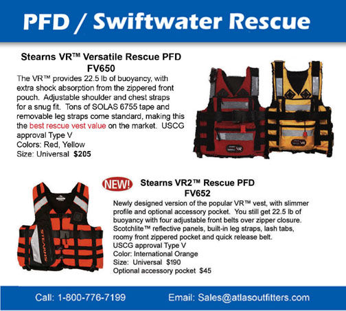 Stearns swiftwater rescue pfd